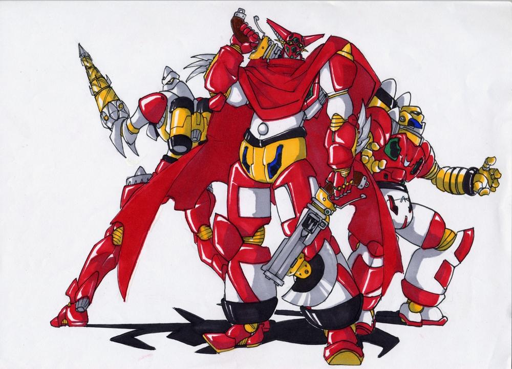 DaiSoul no Gattai Getter Robot by G1d4n