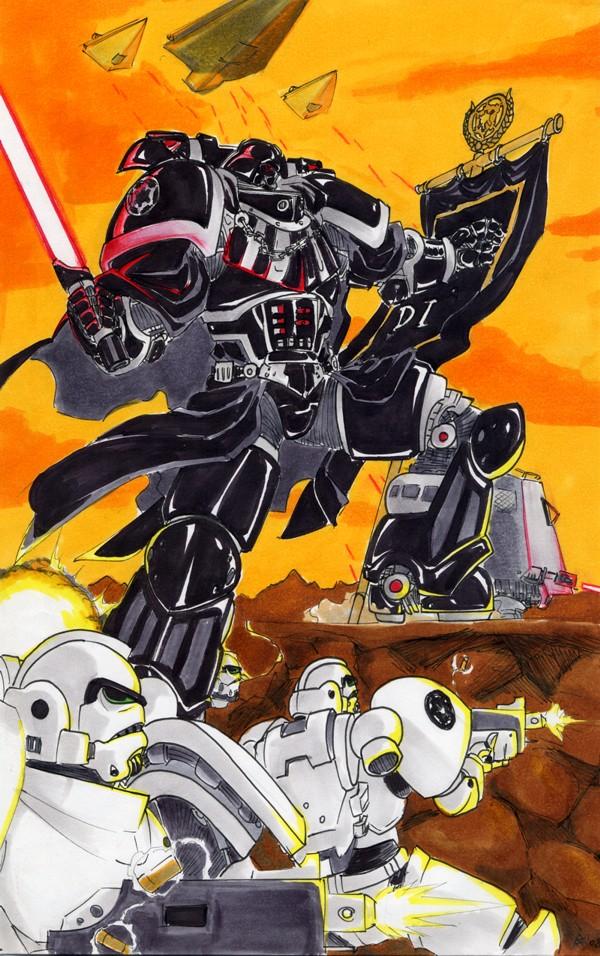 Star Warhammer 40K by G1d4n