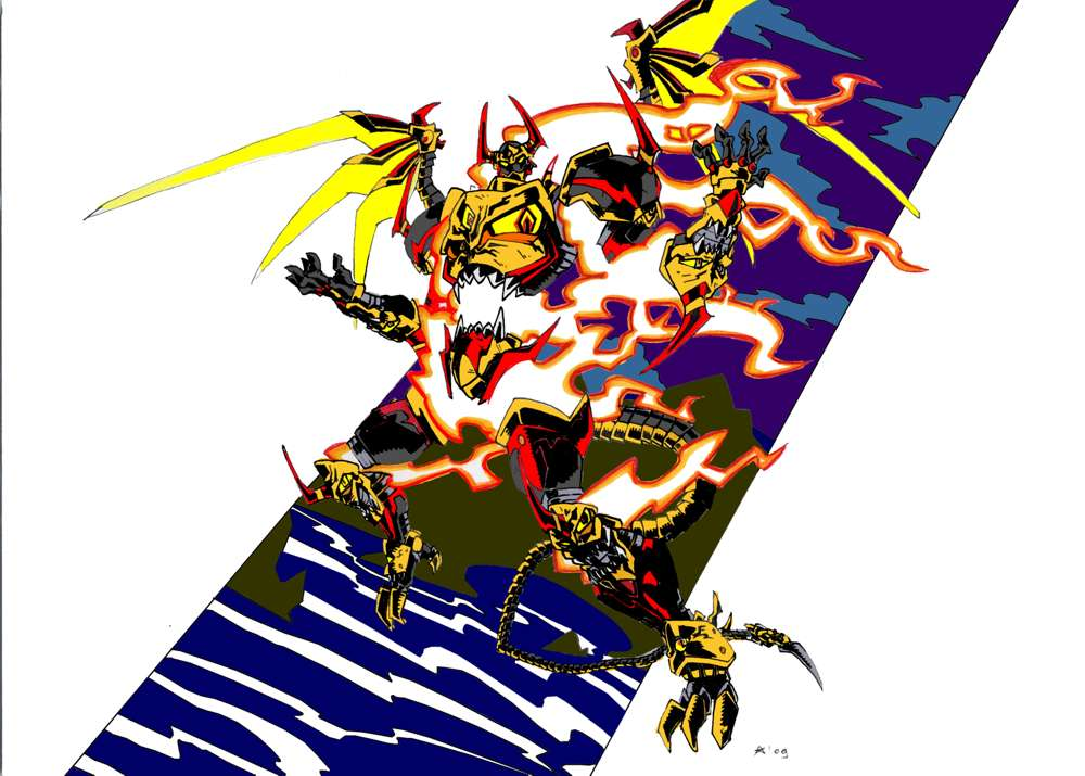 Akuma Striker Leviathan V2 by G1d4n