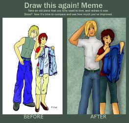 Draw again meme 2