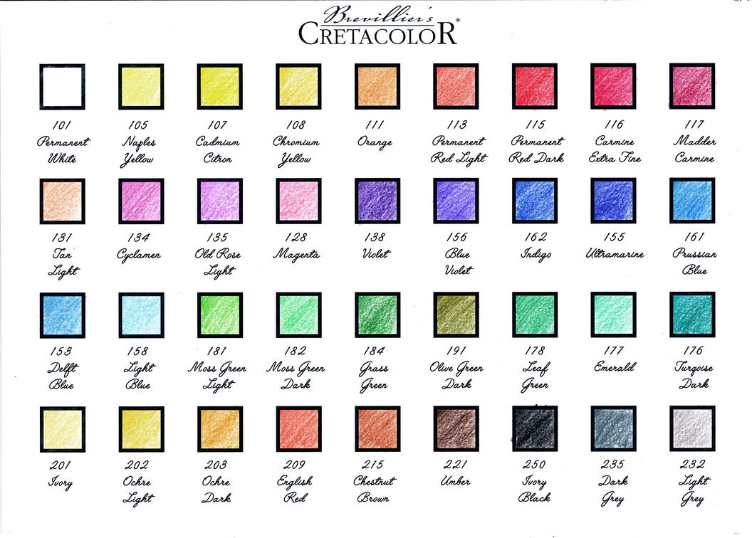 Cretacolor karmina color chart by voorhees87 on deviantart cretacolor karmina color chart by voorhees87 nvjuhfo Image collections