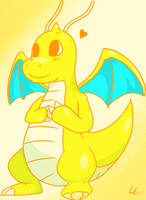 Dragonite by CandidCanine