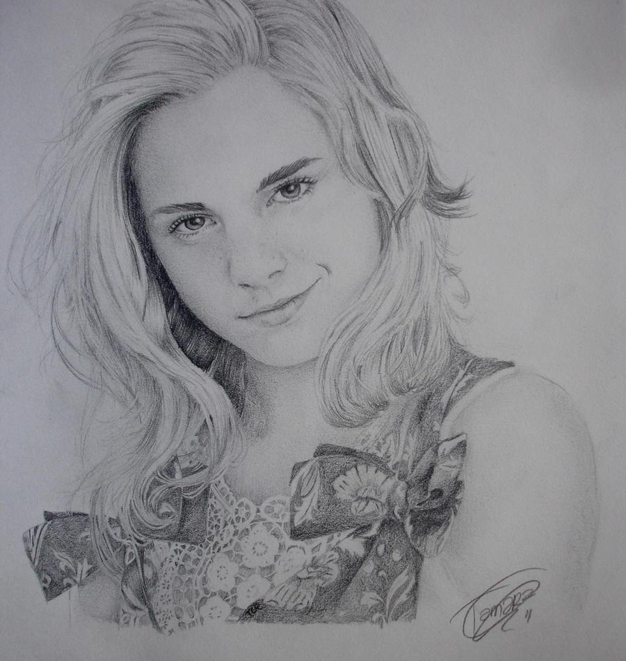 Emma Watson by tamarindopaulitica
