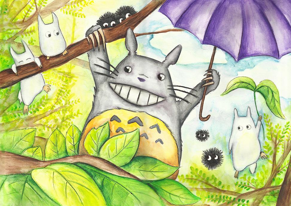 Totoro by JenniElfi