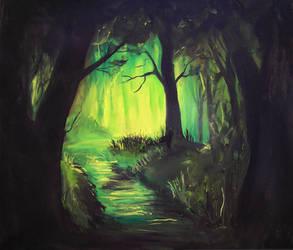 Somewhere deep by JenniElfi