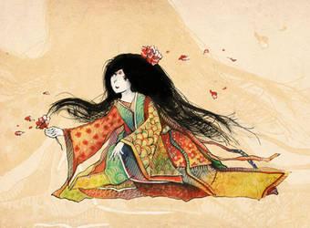 Tale of Princess Kaguya by JenniElfi