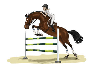 Jumping Competition 3 by Tamara971