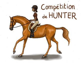 Hunter Show Jumping by Tamara971