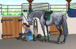 Almost ready to ride by Tamara971