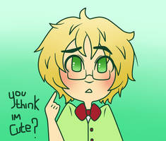 Aph: You think I'm cute? by MoreTeaLove