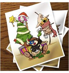 Merry christmas by XiNoka
