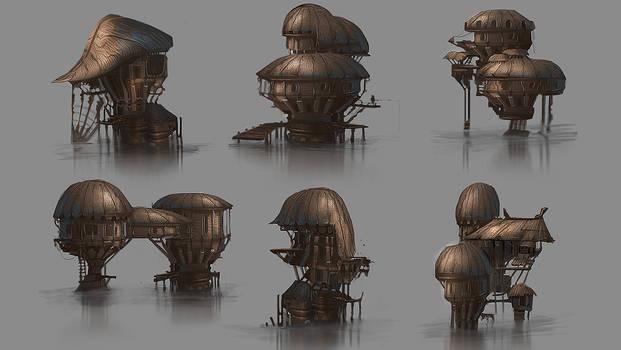 Hut designs