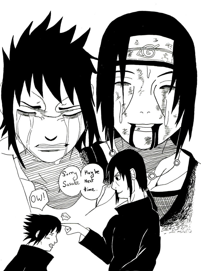 Sasuke vs Itachi Tribute by HarlequinChild on DeviantArt