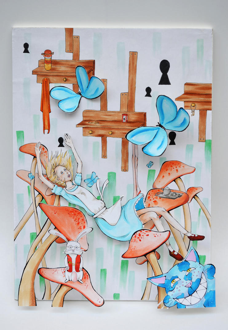 Alice In Wonderland by HarlequinChild