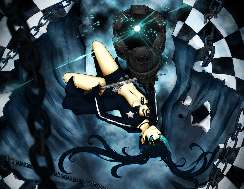 Black Rock Shooter by xNekori