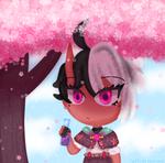 Cherry blossoms by Fluffydezeehond