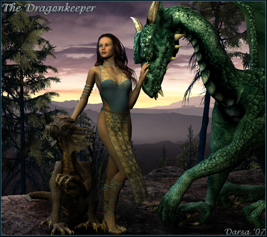The Dragonkeeper by macarthurfamily