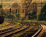 Late light on rail