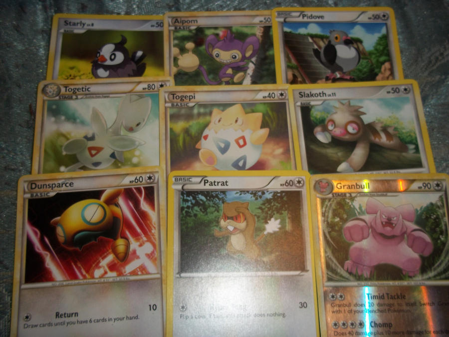 normal pokemon card ~set 1~-for sale/trade- by goddessofdragon on DeviantArt