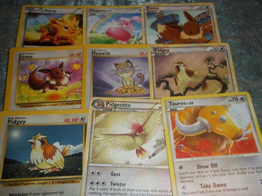 normal pokemon card ~set 2~-for sale/trade- by goddessofdragon on DeviantArt