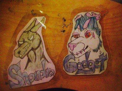badges by goddessofdragon