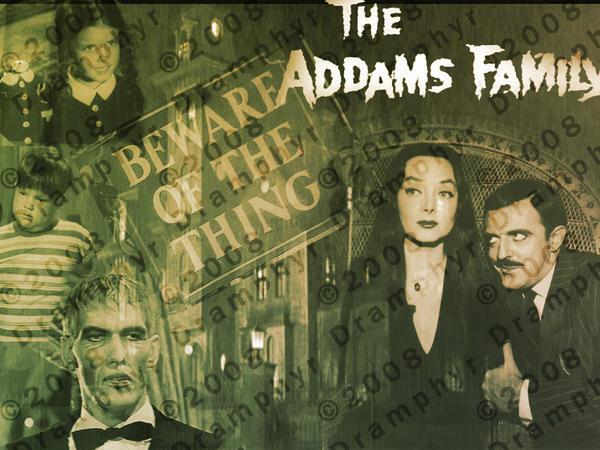 Addams Family by Dramphyr