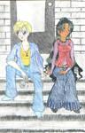 Haruka and Setsuna