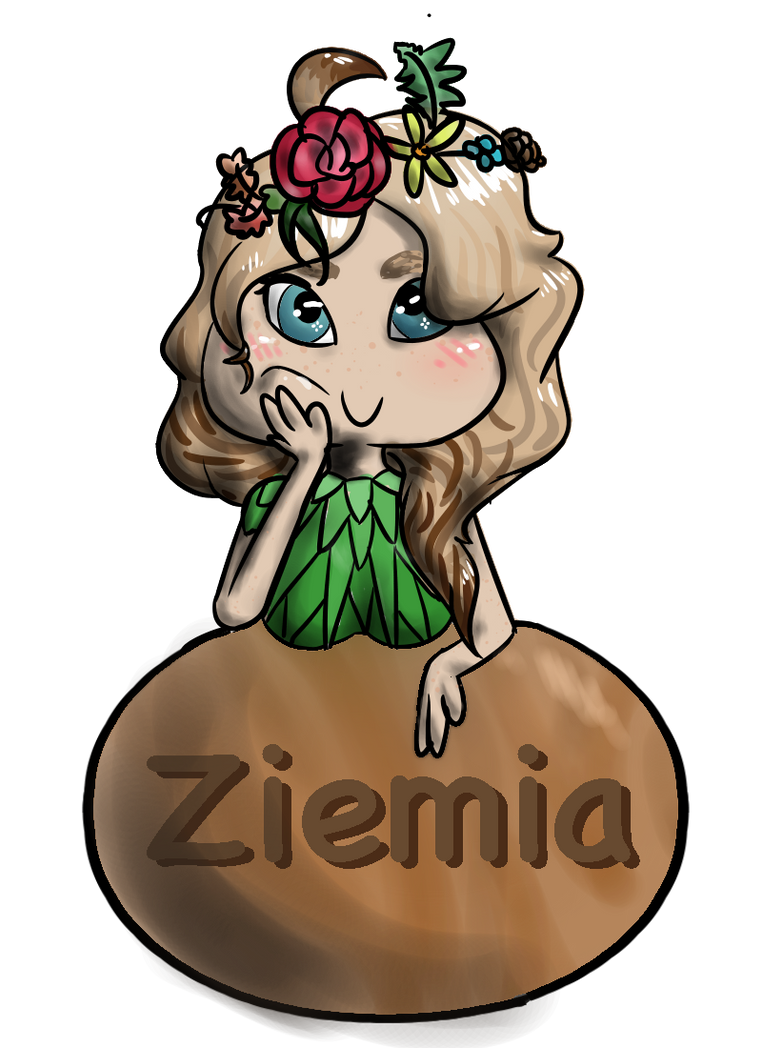 Ziemia badge by AwesomePaw