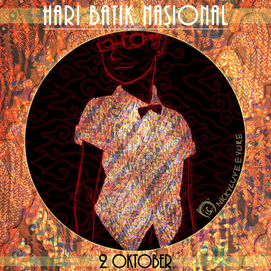 Hari Batik Nasional by NickyLuvEeyore