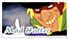batman's mad hatter stamp. by slendeiik