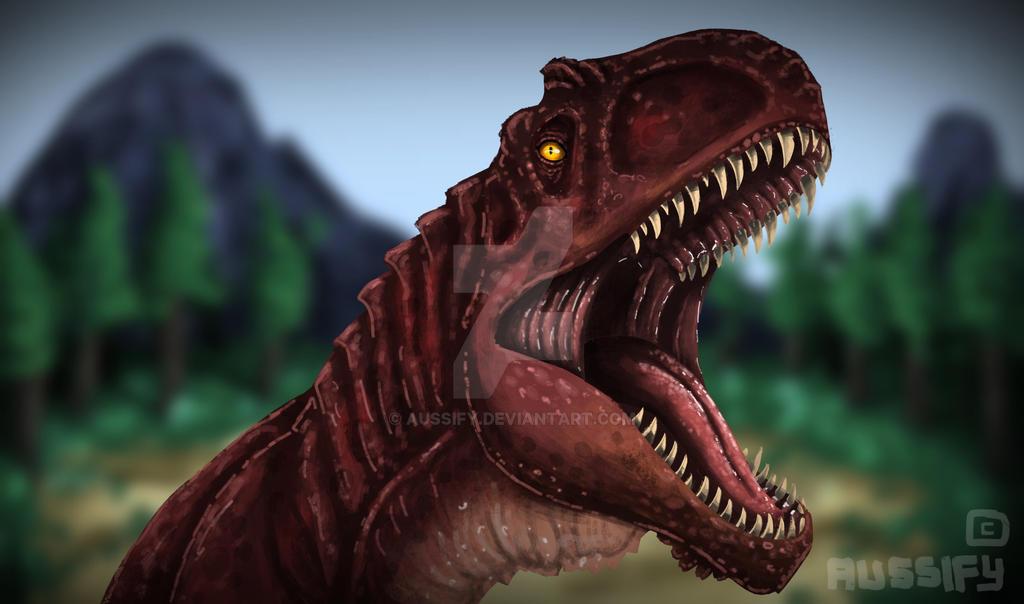 Giganotosaurus by aussify