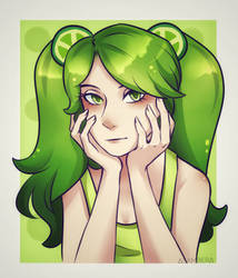 Lime Cookie [CookieRun] by DelTerris