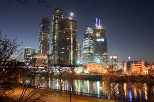 Moscow City 6 by Sarumian3000