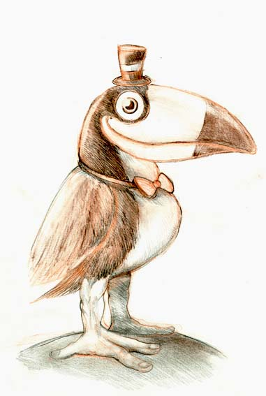 Armstrong toucan by GabrieleRivolta