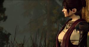 Dragon Age sc: Morrigan by artastrophe