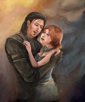 DA:A Nathaniel and Helena by artastrophe