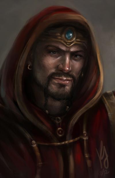 Hooded Edwin by artastrophe