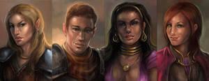 BGI: ToT Characters by artastrophe