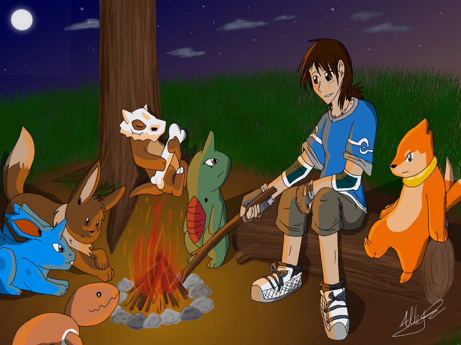 Around the Campfire by Ocrienna