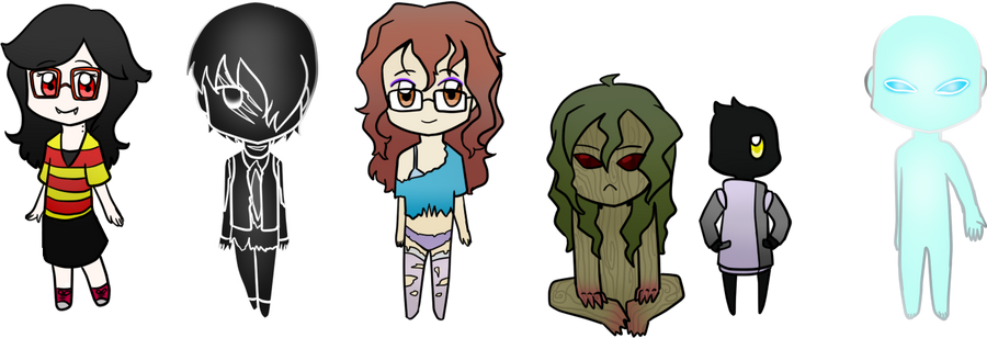 The Horror- Chibi batch 3 by Ocrienna