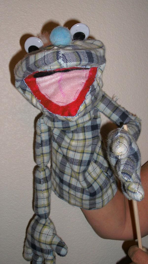 Not Quite a Muppet Puppet
