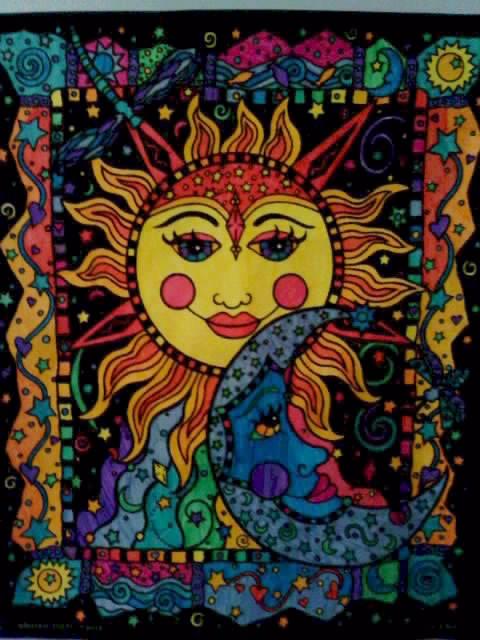 Sun and Moon Fuzzy Poster by chucksmykiss on DeviantArt
