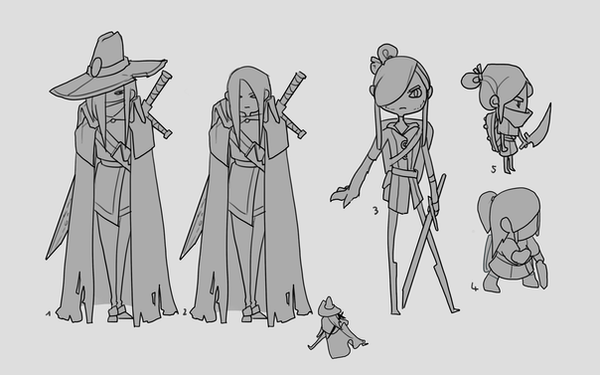 Character - conceptarts by DAggERnoGod