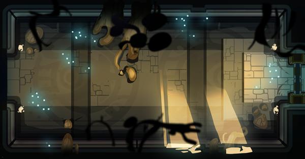 The Shadowborn - Early location concept by DAggERnoGod