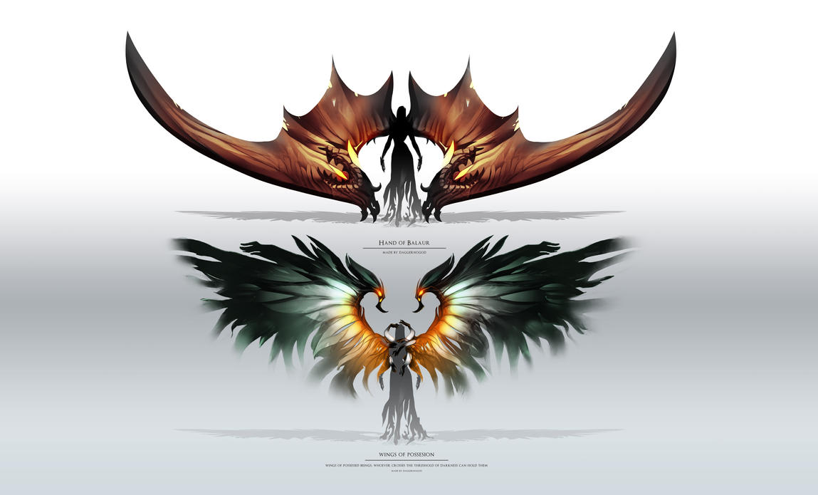 Aion - Wings by DAggERnoGod