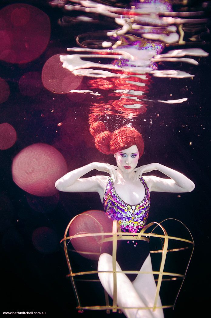 Anemone - THE IMAGINARIUM UNDERWATER by Bethem