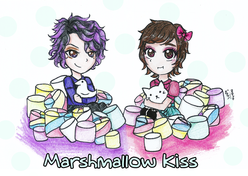 Marshmallow Kiss - new header by Zakuro-iro