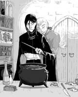Lucius/Snape Series 2 by Thrumugnyr