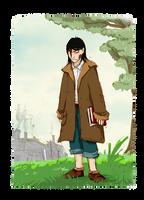 Young Snape Sketch by Thrumugnyr