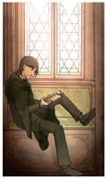 Young Snape by Thrumugnyr